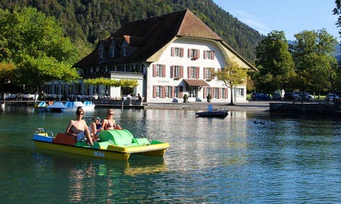 Paddle Boat Rental in Unterseen