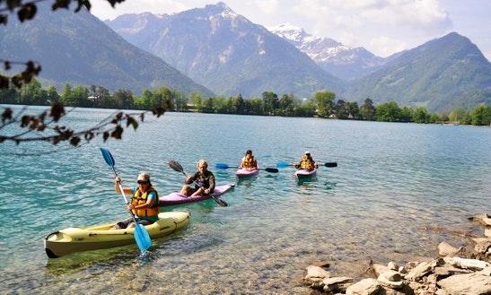 Sea Kayaking Tours In Matten Bei Interlaken