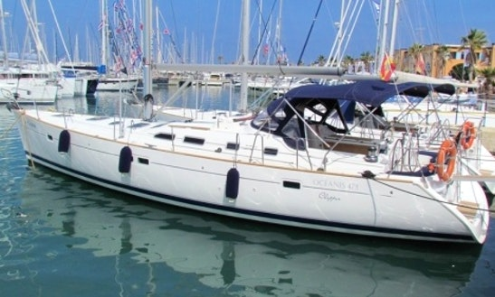 Beneteau Oceanis 473 Sailing Charter In Dénia, Spain