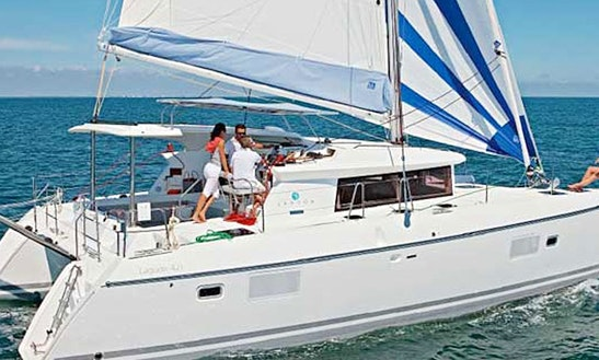 Charter Lagoon 421 Rt Lz Sailing Catamaran In Lanzarote, Spain