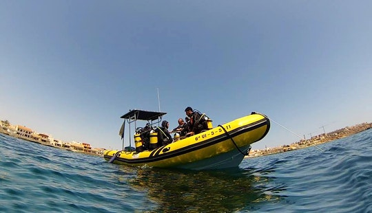 Rent 26ft 'kraken' Rib In Cabo De Palos, Spain