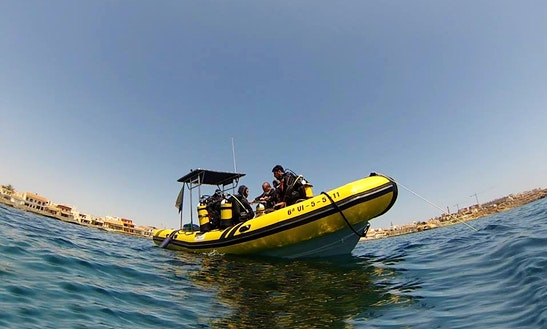 Rent 26ft 'kraken' Rib In Cabo De Palos, Spain