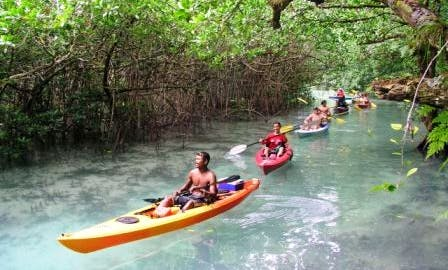 Memorable Single Kayak Trip in Koror, Palau