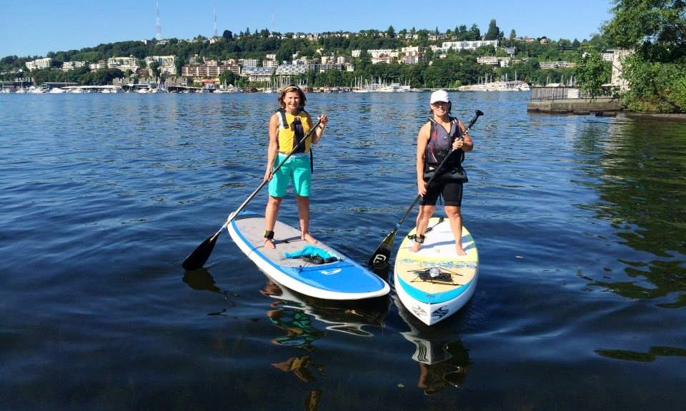 SUP Rental, Tours, Yoga & Fit in Seattle