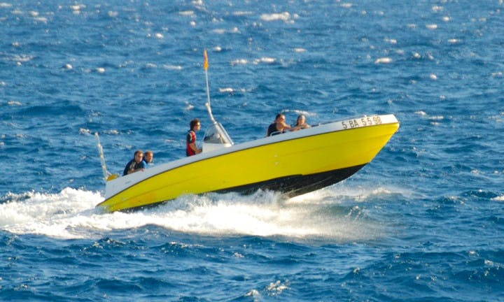 Boat Diving Trips and Snorkeling Adventure with Johnatan in Costa Brava