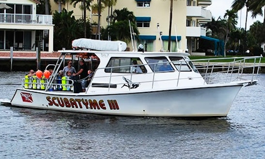 Charter The 'scubatyme Iii' Dive Boat In Pompano Beach, Florida
