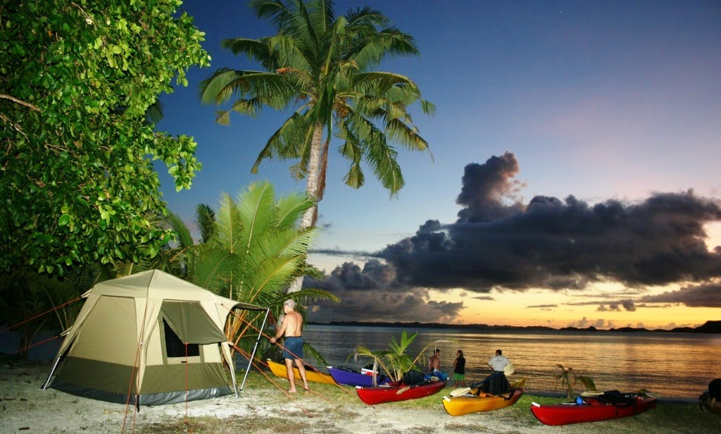 Luxury Camping Safaris in Koror, Palau