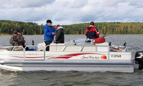 Guided VIP Fishing Excursion for 8 People in Salo, Finland