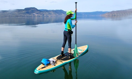 Stand Up Paddleboarding Lessons In Okanagan-similkameen E