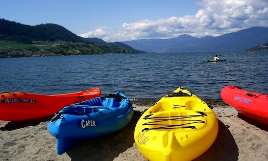 Kayak Rental In Okanagan Lake
