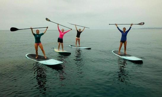 Stand Up Paddleboard Rental In Malibu