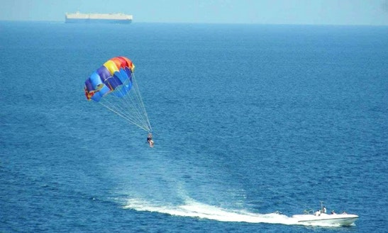 Parasailing In South Sinai Governorate, Egypt