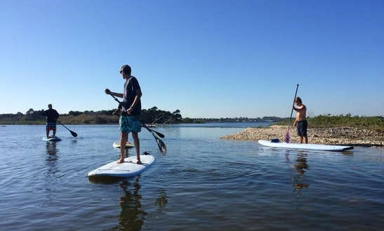 Stand Up Paddleboard Rental & Tours In Daytona Beach Shores