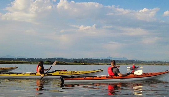Sea Kayaking Lesson In White Rock