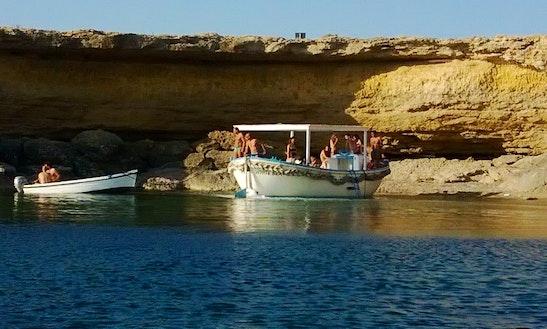 Passenger Boat Trips In Terrasini, Italy