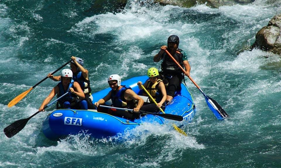 River Rafting On River Esera Huesca