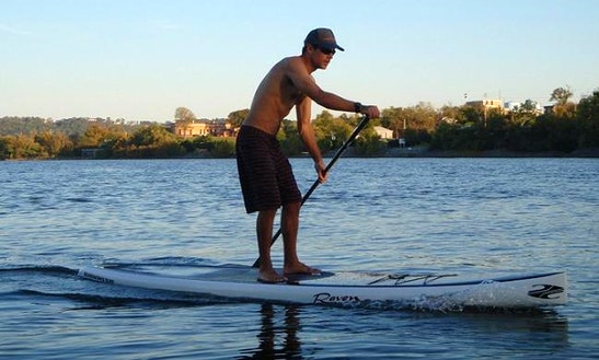 Stand Up Paddle Lesson In Pontedera