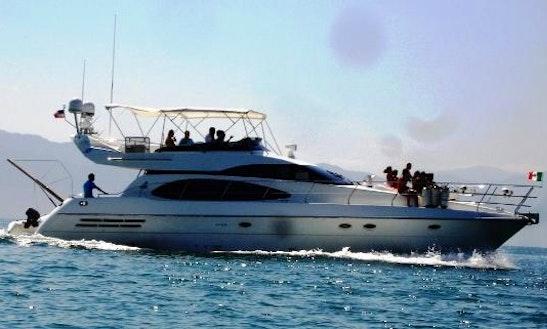 Charter 58' Azimut Yacht Motor Yacht In Puerto Vallarta, Mexico