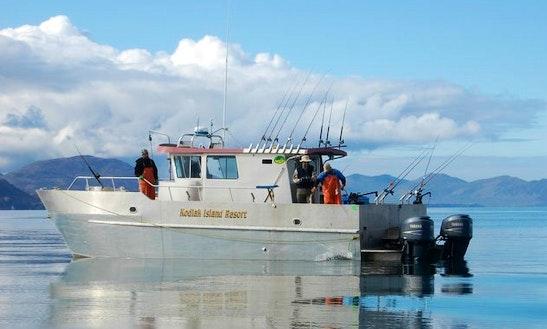 Lodge Fishing Trips In Larsen Bay, Alaska