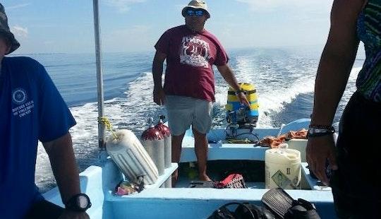 Diving In Puerto Morelos, Mexico