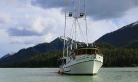 "50ft ""Northern Star"" Trawler Boat Charter in Juneau, Alaska"