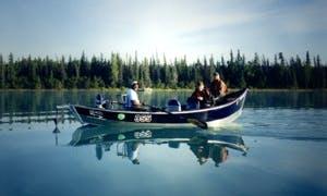 21' Jon Boat Fishing Trips In Anchorage, Alaska