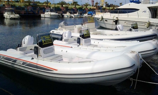 Nuova Jolly 750 Inflatable Boat For Rent In San Vito Dei Normanni, Italy