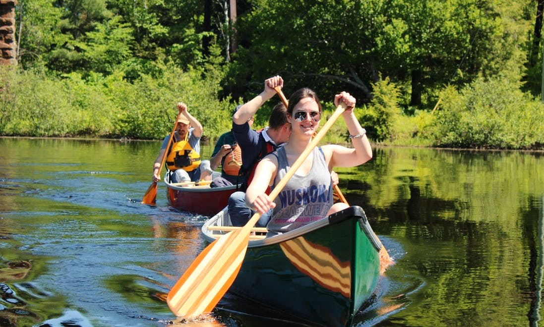 Canoe Paddle Tours On Muskoka Area