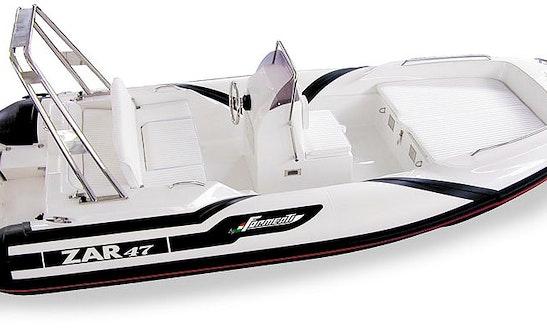 Hire A 5 Person Zar 47 Rigid Inflatable Boat In San Vito Dei Normanni, Italy