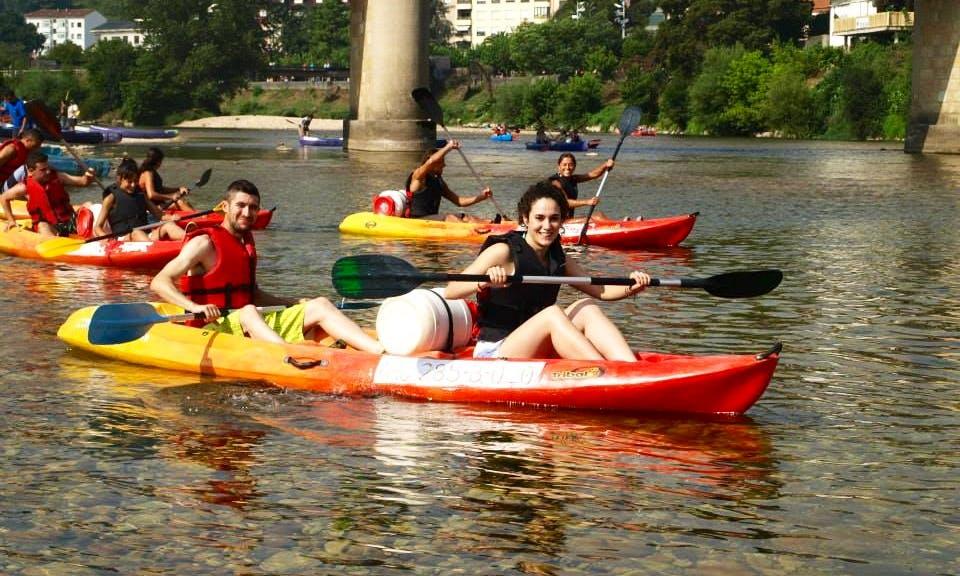 Kayak Descending Guided Trips in Ribadesella