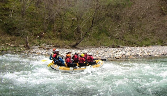 Rafting Descending Guided Trips In Ribadesella
