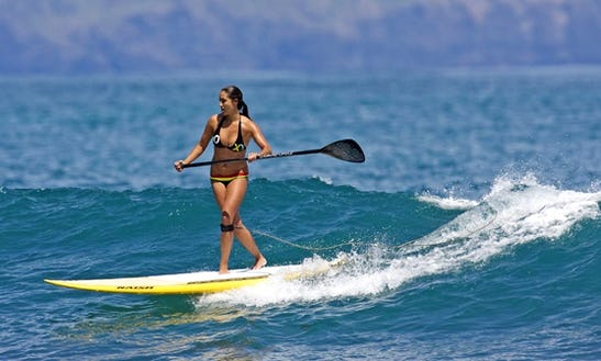 Stand Up Paddleboard Lessons In Caleta De Famara