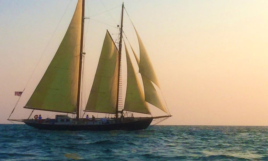 "Sailing Schooner ""Alden"" In Key West, Florida (With Captain Only)"