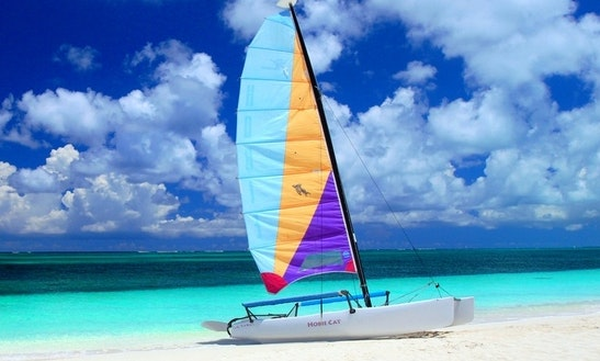 Hobie Cat Sailing Lesson In Cancún
