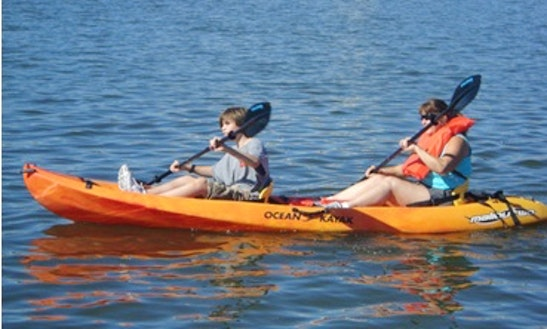 Tandem Kayak Rental In Newport