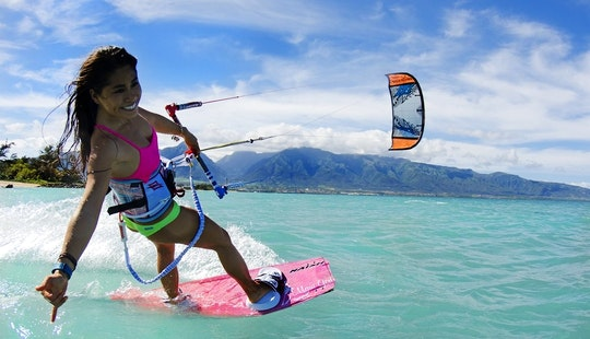 Kitesurfing Lessons In Kahului