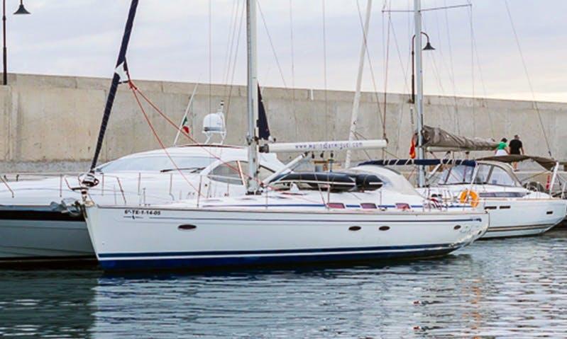'San Miguel' Bavaria Cruiser 50 Charter in San Miguel Marina Amarilla Golf, Tenerife