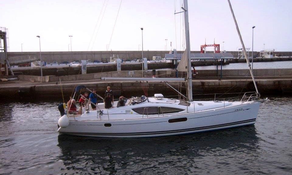 'Tehya Tala' Sun Odyssey 45 Charter in San Miguel Marina Amarilla Golf, Tenerife