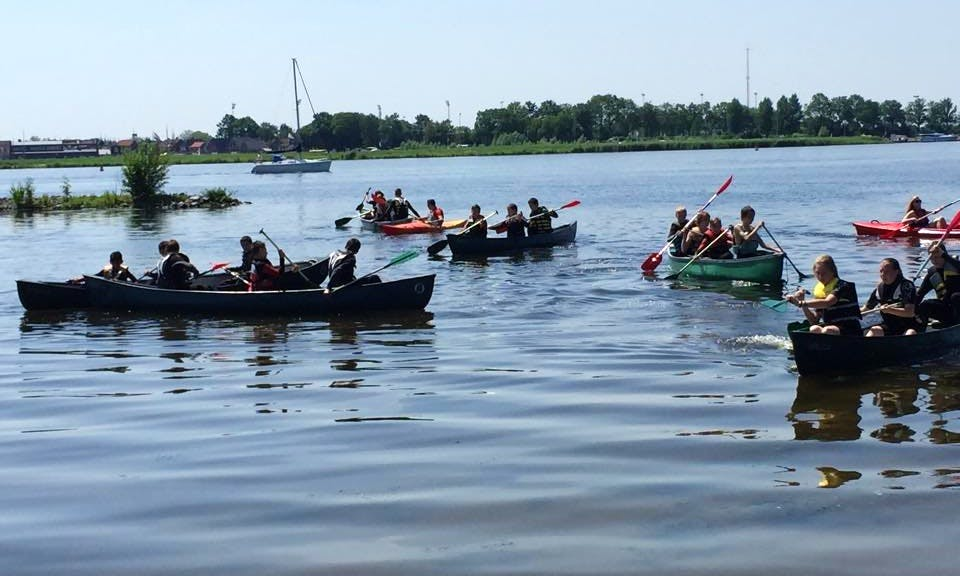 Discover Zeewolde, Netherlands with a 3 Person Canoe Rental