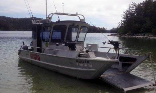 "30ft ""Silver Bullet""  Charter boatin Sitka, Alaska"