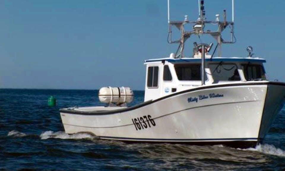 """Misty Blue Waters"" Fishing Charter in Prince Edward Island"