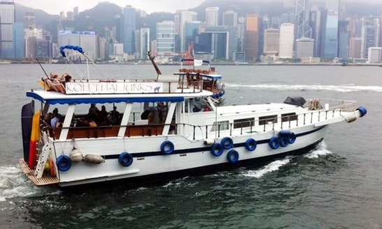 Sl002 Chinese Junk 50 Boat Charter In Hong Kong