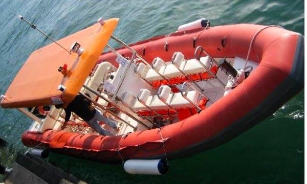 Speed Boat RIB Charter in Hong Kong