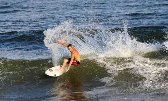 Surfing Lessons & Rentals In Folly Beach