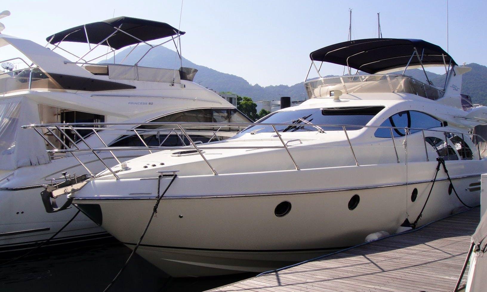 Azimut 50 luxury yacht