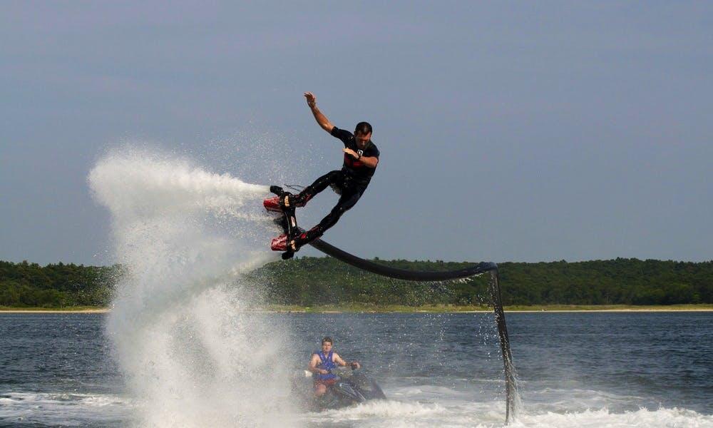 Flyboard in Hampton, Virginia