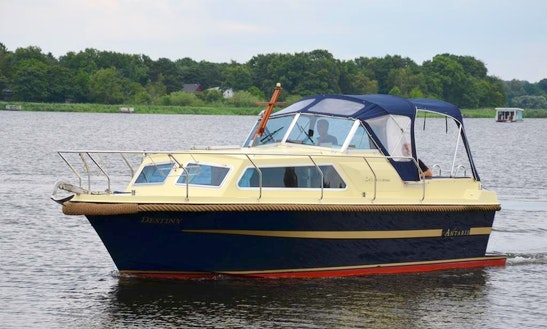 Rent Antaris 720 Family Yacht In Werder (havel)