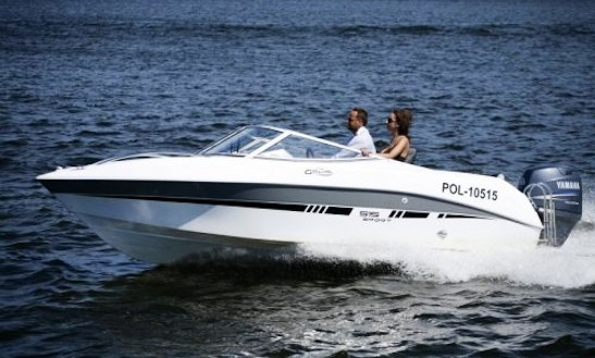 Rent Galia 515 Sport Speedboat In Werder (havel)
