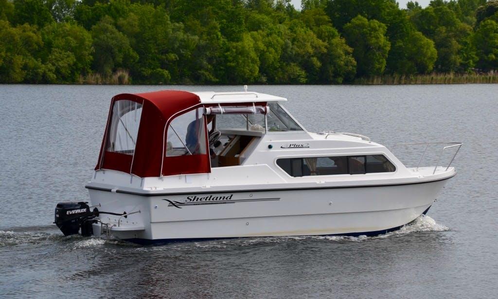 Rent Shetland Compact Cruiser In Werder (Havel)