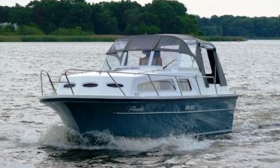 Rent Almeria 850 Yacht In Werder (havel)